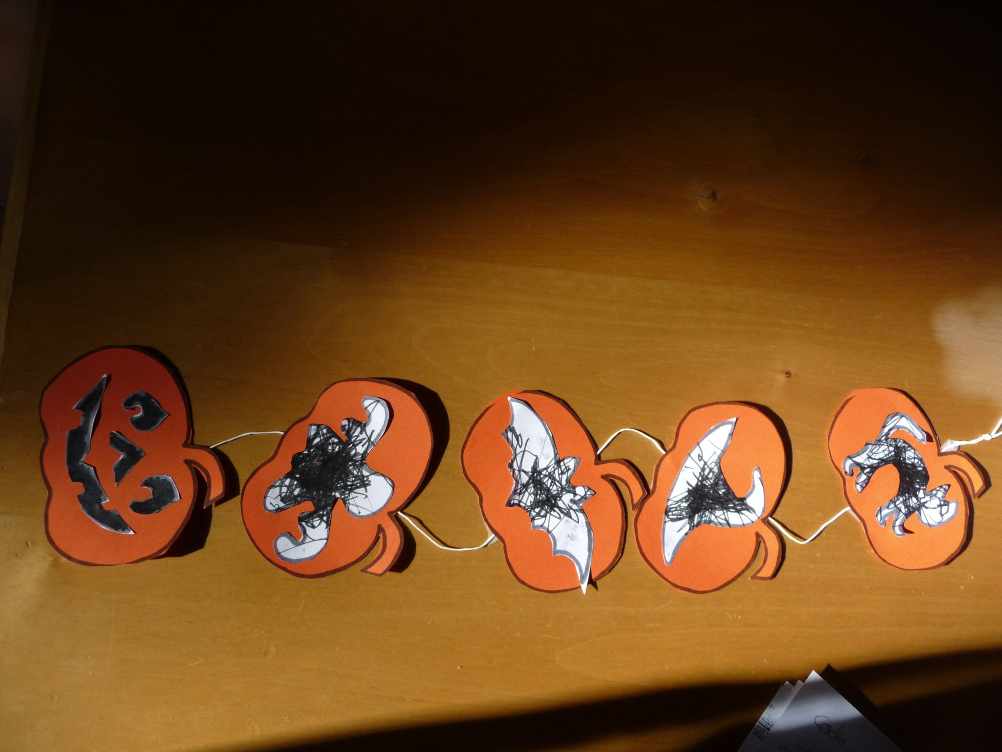 Guirlande d 39 halloween - Guirlande d halloween ...